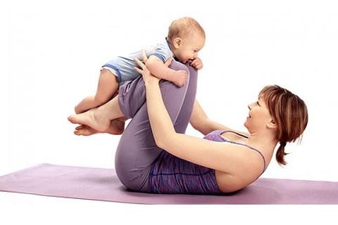 efter føgsel gravid træning